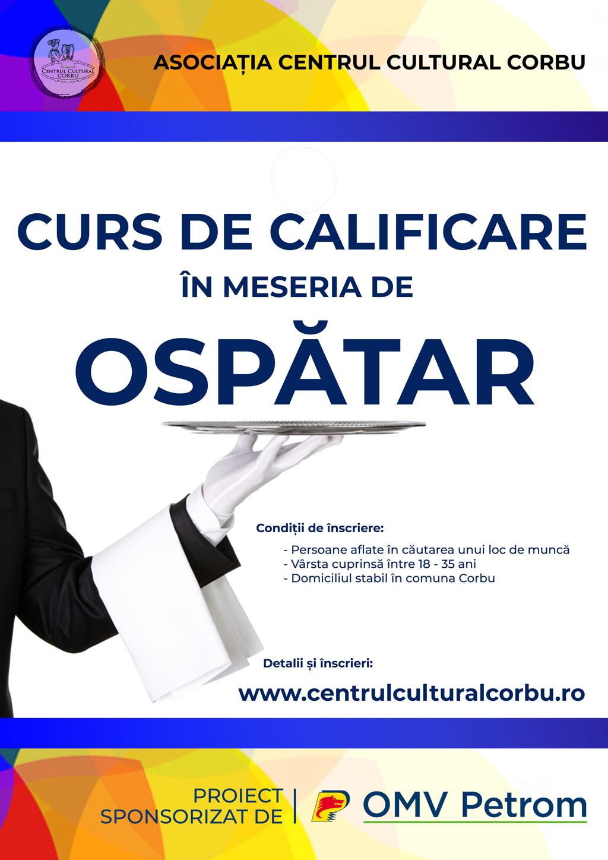 CURS DE CALIFICARE – OSPATAR